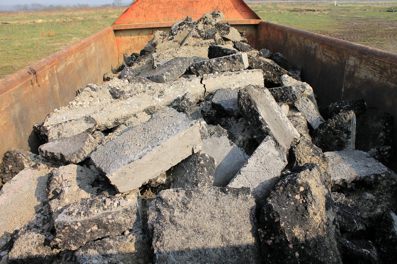 Kontenery na gruz powiat Poznański
