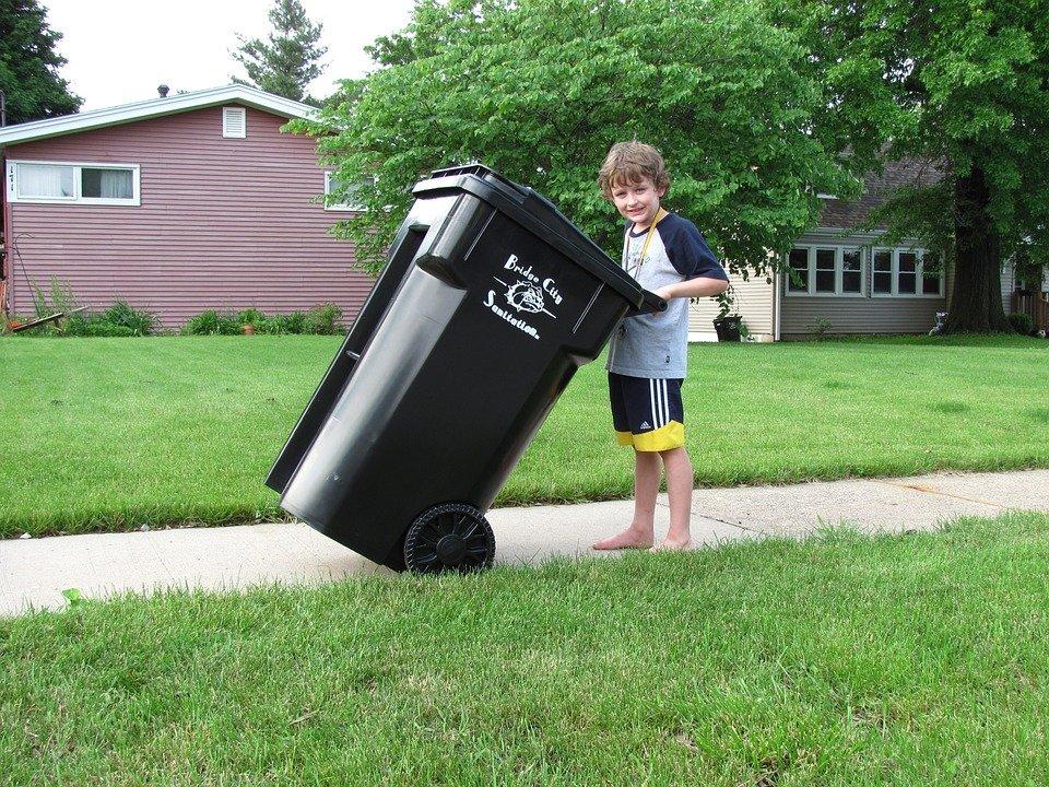 Pojemniki na odpady zmieszane