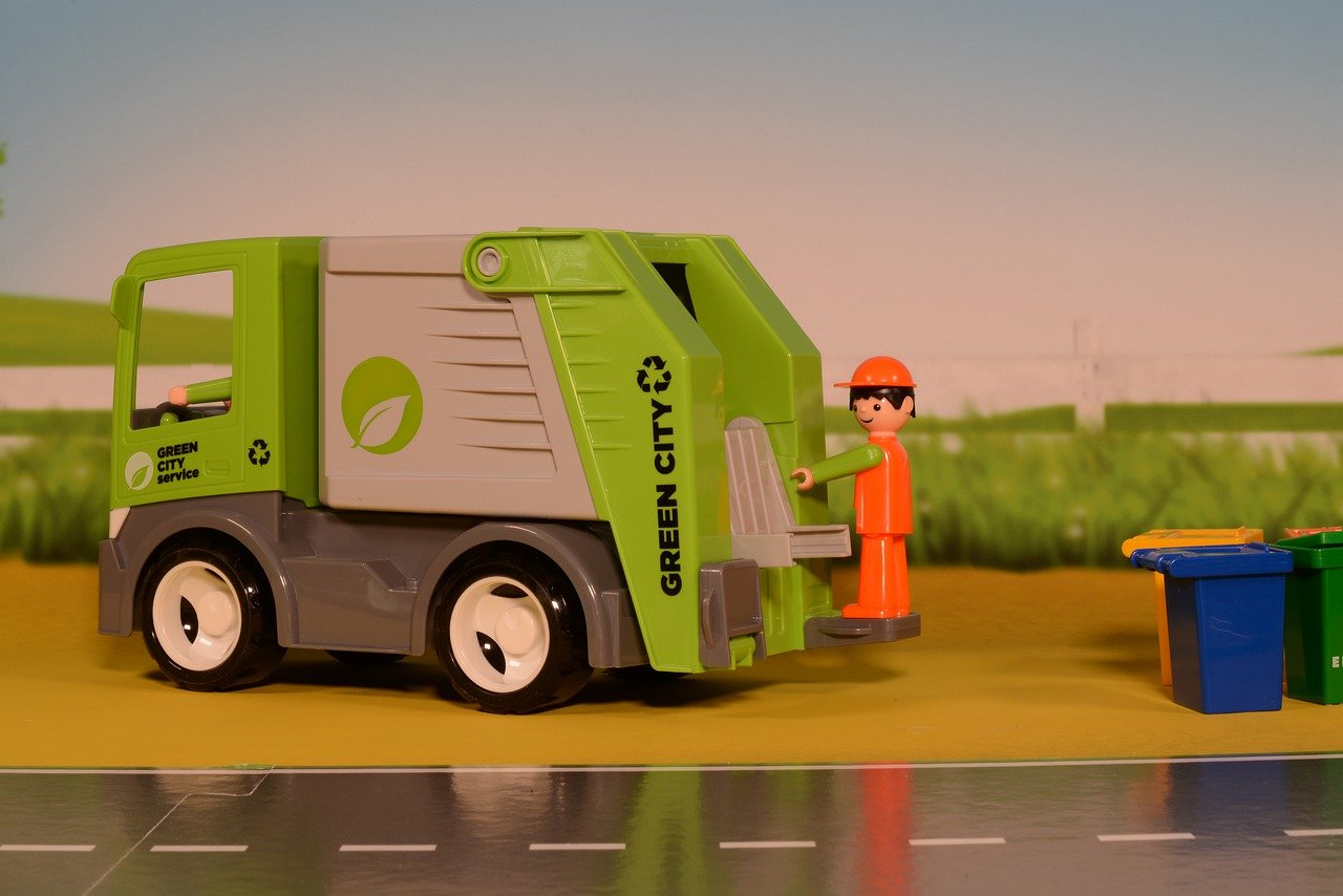 Podstawowe rodzaje śmieciarek