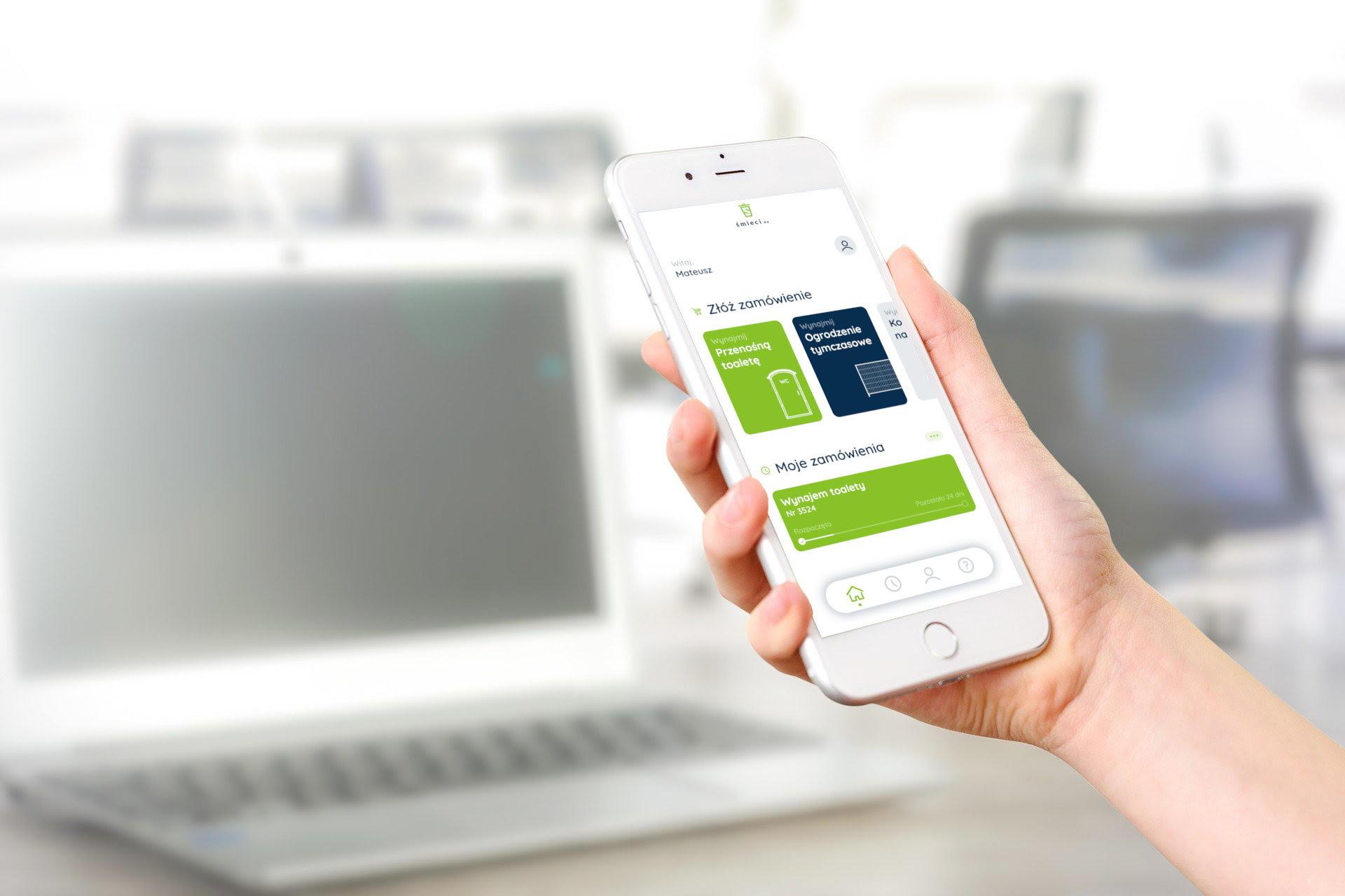 Aplikacja Śmieci.eu na Androida i IOS