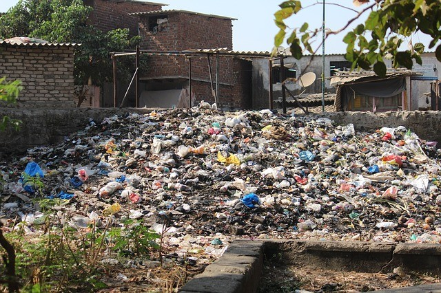 Wynajem kontenera na odpady zmieszane